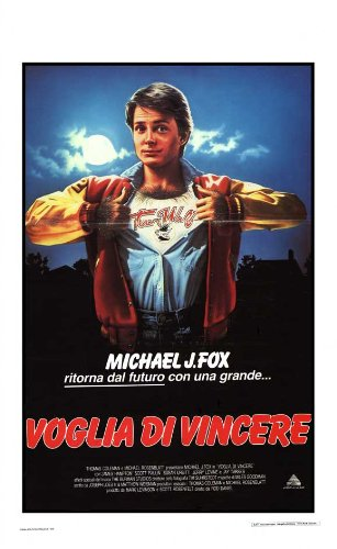 Teen Wolf Movie Poster (13 x 28 Inches - 34cm x 72cm) (1985) Italian -(Michael J. Fox)(James Hampton)(Scott Paulin)(Susan Ursitti) ()