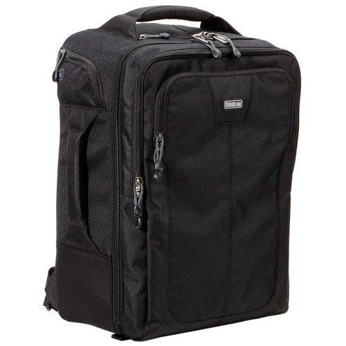 Airport Commuter Backpack (Black) [並行輸入品] B07MCQSMRG
