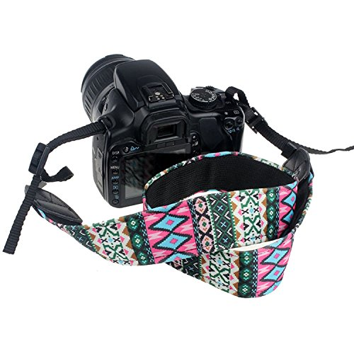 CEARI VSM-06 Vintage Camera Shoulder Neck Strap for Canon EOS Rebel T6S T6 T5i T5 T4i T3i T3 T2i T1i XTi XT XSi XS SL1…