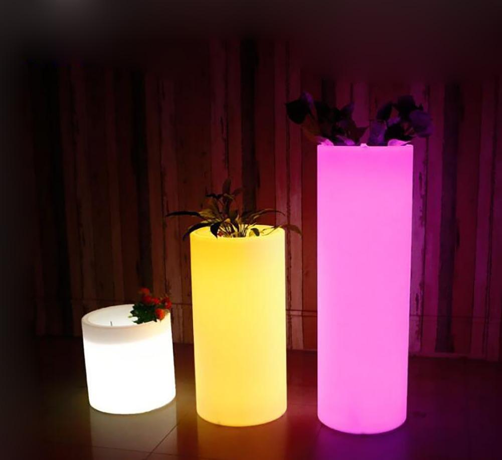Stehleuchte Kreative Aufladung wasserdichte Fernsteuerungs 7 Farbe tragen beständige Abnutzung Beleuchtungdekoration