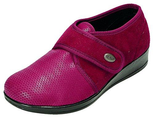 Donna 863417 Pantofole Bordeaux Rosso Flot Fly t1qnwzZ5t