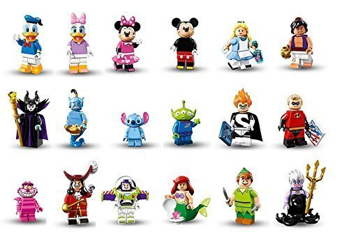 Lego minifigures series 18 complete set