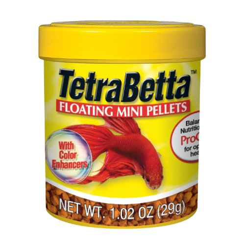 Tetra 77019 Betta Pellets, 1.02-Ounce, 66-ml