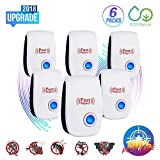 Snoogg Ultrasonic Pest Repeller-2018 Electronic Pest Repellent Plug in Indoor Pest Control Ultrasonic Fly and Spider Repellent for Mice,Rat,Mosquito,Roach,Ant,Bug, Rodent-No Trap,Sprayer&Baits