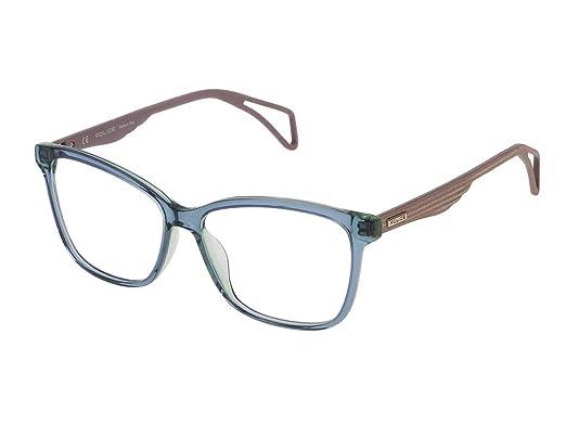 0331635115f POLICE - Monture de lunettes - Femme Bleu bleu ciel 50  Amazon.fr ...