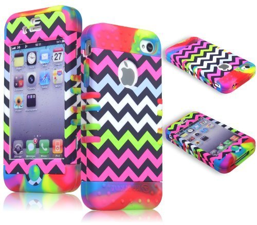 iphone 4 case tie dye - 2