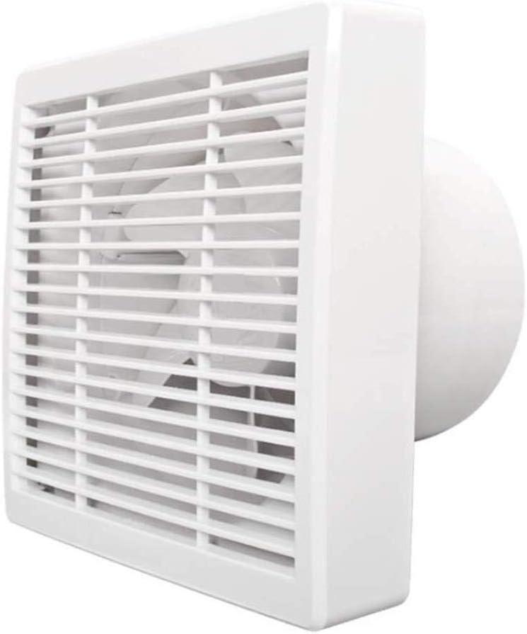 Ventilador de ventilación doméstico Extintor Extractor De Cocina Negro De Humo WC Ventana Ventilador De Cristal LITING