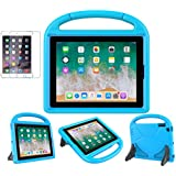 iPad 2/3/4 Kid-Proof Case - SUPLIK Shockproof Protective Lightweight Handle Bumper Stand Cover with Screen Protector for Apple iPad 2nd,3rd,4th Generation 9.7 inch Tablet, Blue