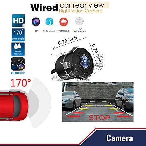 Rabusion Cam/éra de recul avec Vision Nocturne Infrarouge Full HD 170 /°