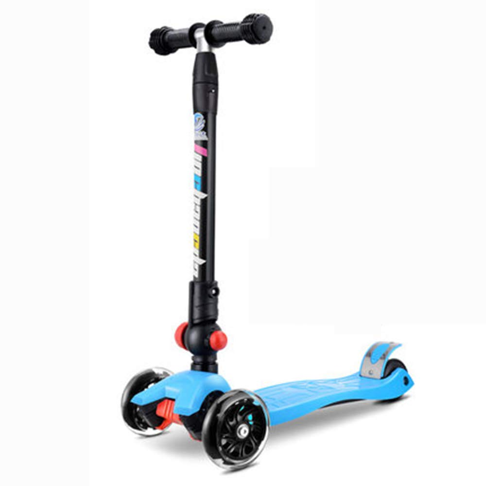 bluee Scooter for Kids Toddlers 3in1, Adjustable 3 Wheels Kick Scooter with Removable & Adjustable Seat,for Boys Girls Age 210