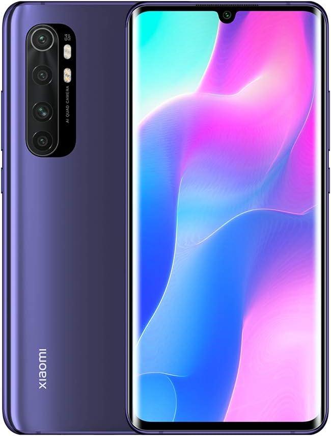 Xiaomi Mi Note 10 Lite Smartphone 6 GB 64 GB (Nebula Purple)