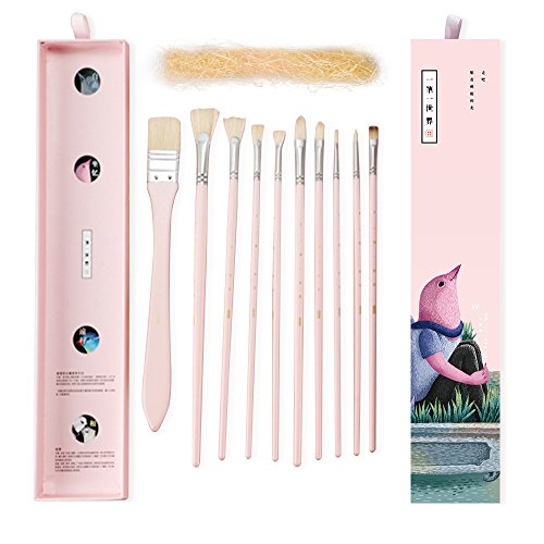 Brushes Acrylic Watercolor Gouache Painting product image