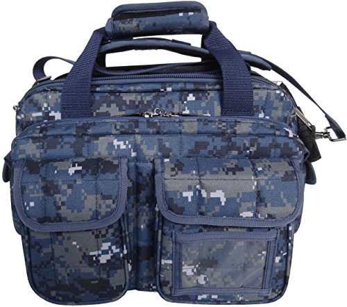 Explorer Tactical 12 Pistol Padded Gun and Gear Bag Navy Digital