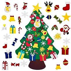 Fayoo DIY Felt Christmas Tree with 30pcs...
