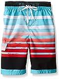Kanu Surf Little Boys' Reflection Quick Dry Beach Swim Trunk, Aqua, Large (7): more info