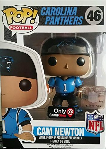 hot sale online d4317 f644a Amazon.com: Funko POP! NFL Football Carolina Panthers 46 ...
