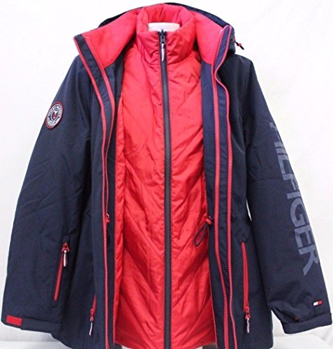 Tommy Hilfiger 3-In-1 Systems Jacket For Women at Amazon Women s Coats Shop 60c69a0fdf