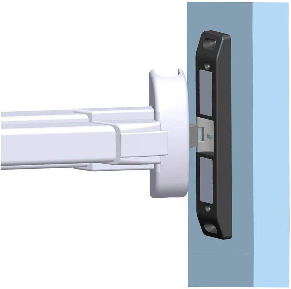 Access Control Kit With Electric Strike Lock Remote Control For Fire Exit Door With Push Bar Home & Kitchen