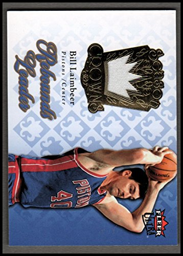 2007-08 Ultra SE Season Crowns Memorabilia #SCBL Bill Laimbeer Jersey - NM-MT 08 Fleer Ultra Trading Card