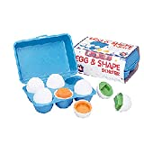 SMALL WORLD TOYS EGG AND SHAPE SORTER (Set of 12)