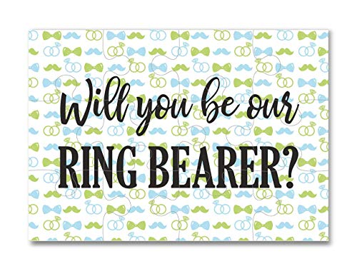 Ring Bearer Gifts Ring Bearer Proposal Puzzle -