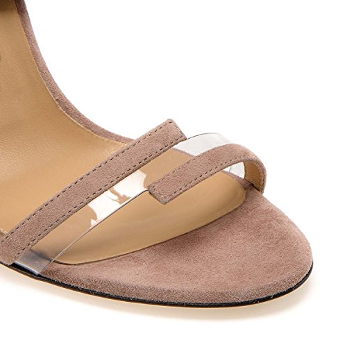 Femmes GONGFF De Super Chaussures Pour 3 Haut Sandales PVC Talons Couture Chaussures Banquet Mme À Haute qqHw6rf