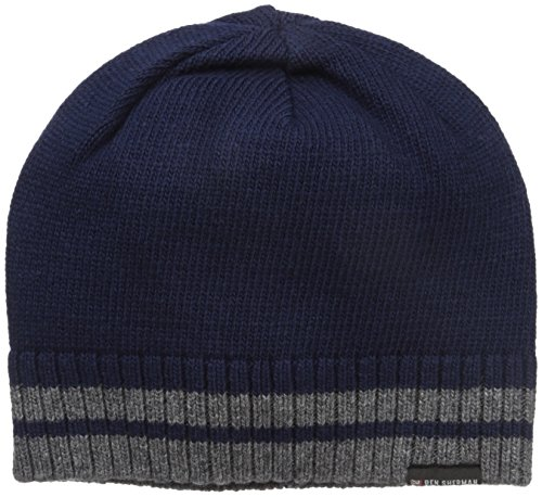 ben-sherman-mens-placed-tiping-knit-beanie-staples-navy-one-size