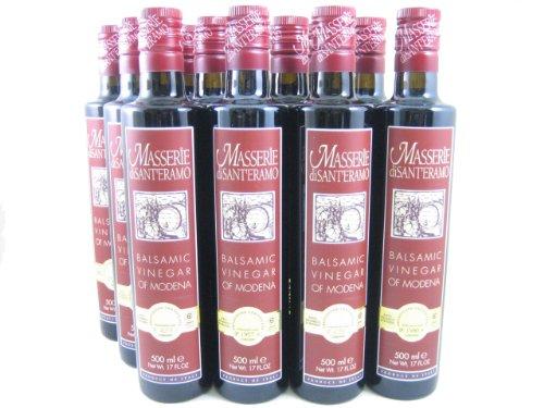 Masserie di Sant'Eramo Balsamic Vinegar (Case of 12 - 17 Ounce Bottles) by Masserie di Sant'Eramo (Image #1)