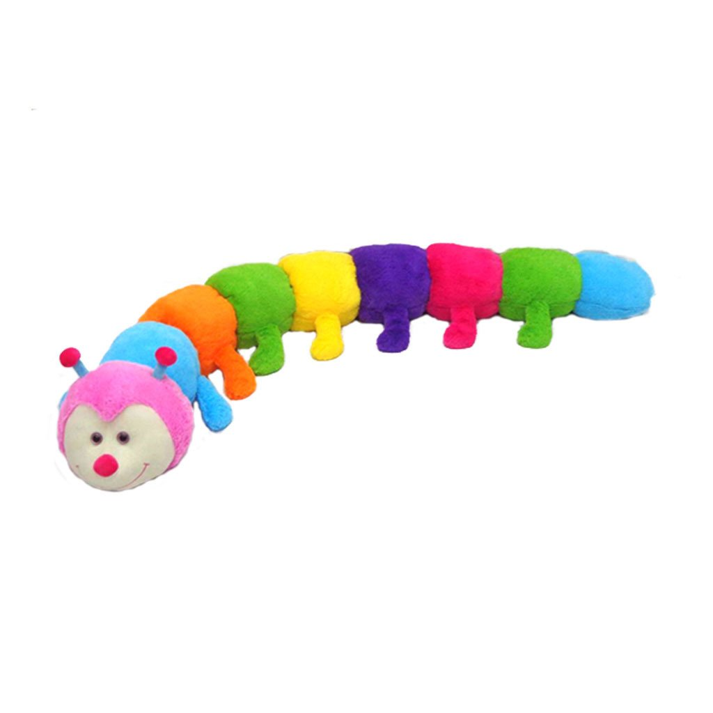 Speelgoed Bontempi/ Marionette//Handpuppets /Peluche Bruco Rainbow