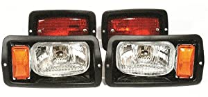 Golf Cart Club Car Ds Headlight And Taillight Kit