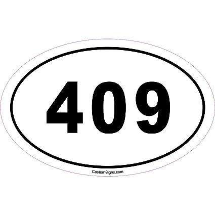 409 bumper sticker