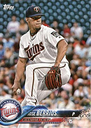 6818c65768f 2018 Topps Factory Team Sets Minnesota Twins #MT-13 Jose Berrios Minnesota  Twins Baseball