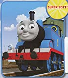 Thomas the Tank Engine 'Go, Go Thomas' Plush Fleece Throw Blanket