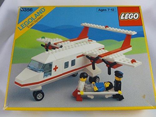 Lego 6356 Med-Star Rescue Plane - Legoland Town System Set