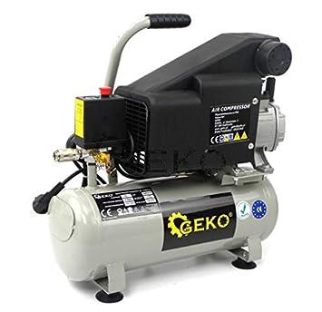 Compresor de aceite con una capacidad de tanque de 50 litros móvil de 1 cilindro: Amazon.es: Coche y moto