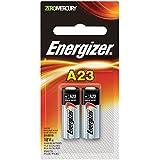 Energizer Zero Mercury Alkaline Batteries A23, 2 Count