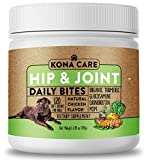 Hip & Joint Supplement for Dogs - Organic Turmeric, Glucosamine, Chondroitin, MSM - Made with All-Natural Ingredients - Supports Healthy Joints & Improves Mobility, Large & Small Dogs - 120 Soft Chews