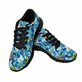 InterestPrint Women's Trail Running Shoes Elegance Forget Me Not For Sale