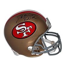 """Deion Sanders San Francisco 49ers Autographed Replica Helmet Inscribed """"Prime Time"""" Autographed - Autographed NFL Helmets"""