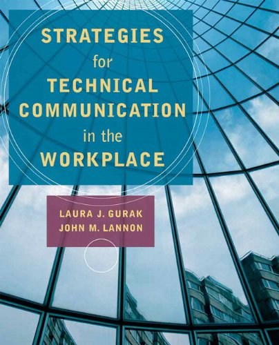 Strategies for Technical Communication in the Workplace