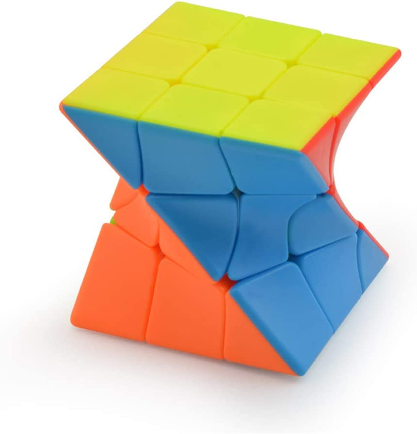 2 cubo Koplow 16mm * Glow in the Dark: rojo ronda esquinas * luces puntos