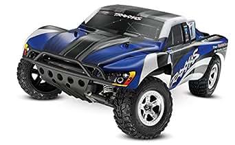 Traxxas 1/10 Slash 2WD RTR with 2.4GHz Radio (No Battery), Blue/Black