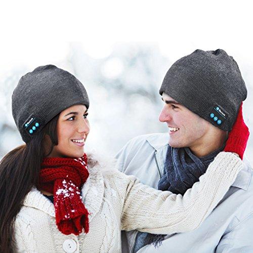 3345a1f6914 XIKEZAN Unisex Bluetooth Beanie Smart Winter Knit Hat V4.1 Wireless Musical  Headphones Earphones w