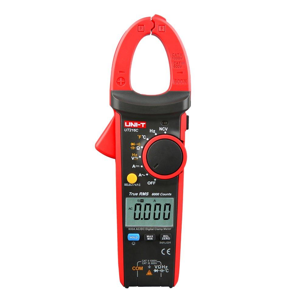 UNI-T UT216C 600A True RMS Digital Clamp Meter Multimeter Auto Range with Freque