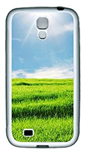 Samsung Galaxy S4 I9500 Cases & Covers - The Brilliant Green Grass Custom TPU Soft Case Cover Protector for Samsung Galaxy S4 I9500 - White