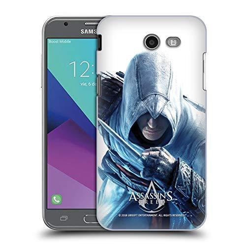 Official Assassin's Creed Altaïr Hidden Blade Key Art Hard Back Case Compatible for Samsung Galaxy J3 ()