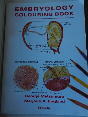 Colouring Book of Embryology