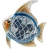 DecoBREEZE Tropical Fish Figurine Fan Two-Speed Electric Circulating Fan