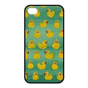Custom Duck Design Rubber TPU Case for Iphone 4 4S