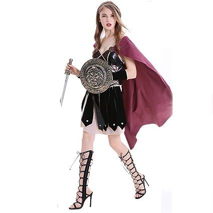 Shisky Disfraz de Halloween Mujer, Halloween Traje Papel ...